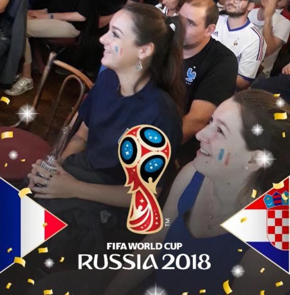 We are the Champions!!! World Cup Final at Rouge